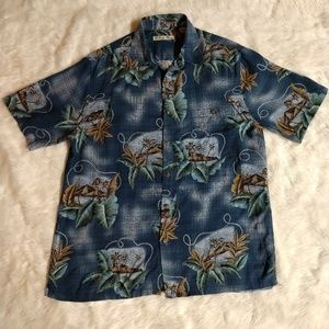 Batik Bay short sleeve large Hawaiian shirt